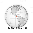 Outline Map of San Ramon