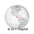 Outline Map of Upala