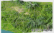 Satellite 3D Map of Cartago