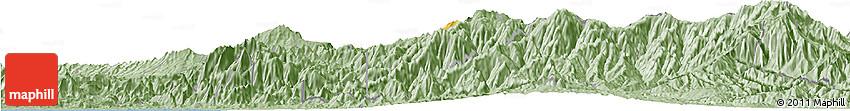 Savanna Style Horizon Map of Cartago