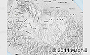 Silver Style Map of Cartago