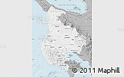 Gray Map of Guanacaste
