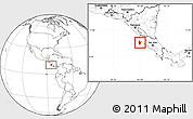 Blank Location Map of Santa Cruz