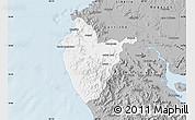 Gray Map of Santa Cruz