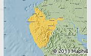 Savanna Style Map of Santa Cruz