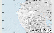 Silver Style Map of Santa Cruz