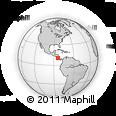 Outline Map of Sarapiqui