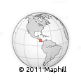 Outline Map of Pococi