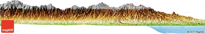 Physical Horizon Map of Talamanca