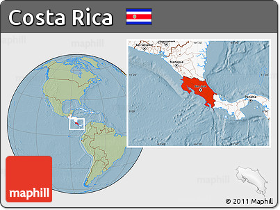 Free savanna style location map of costa rica highlighted savanna style location map of costa rica highlighted continent hill shading gumiabroncs Image collections