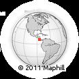 Outline Map of Garabito