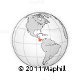 Outline Map of Golfito