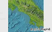Satellite Map of Puntarenas