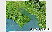 Satellite 3D Map of Puntarenas