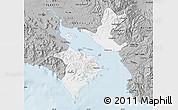Gray Map of Puntarenas