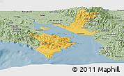 Savanna Style Panoramic Map of Puntarenas