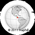 Outline Map of Dota