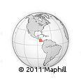 Outline Map of Goicoechea