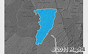Political Map of Bettie, darken, desaturated