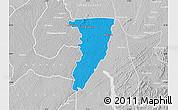 Political Map of Bettie, lighten, desaturated