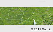 Satellite Panoramic Map of Bettie