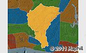Political Map of Alepe, darken
