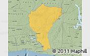 Savanna Style Map of Alepe