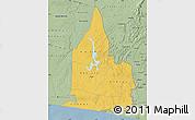 Savanna Style Map of Aboisso