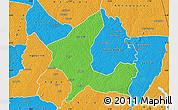 Political Map of Adzope