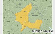 Savanna Style Map of Adzope