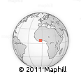 Outline Map of Adzope