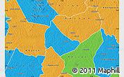 Political Map of Affery