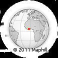 Outline Map of Affery
