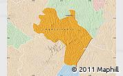 Political Map of Agnibilekro, lighten