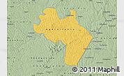 Savanna Style Map of Agnibilekro