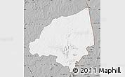 Gray Map of Bondoukou