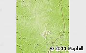 Physical Map of Bondoukou