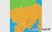 Political Map of Bondoukou