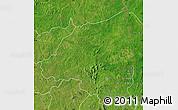 Satellite Map of Bondoukou