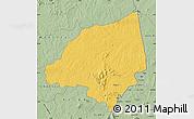 Savanna Style Map of Bondoukou