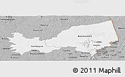 Gray Panoramic Map of Bondoukou