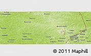 Physical Panoramic Map of Bondoukou