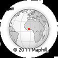 Outline Map of Sandegue
