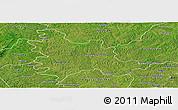 Satellite Panoramic Map of Sandegue