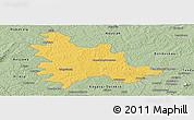 Savanna Style Panoramic Map of Sandegue
