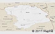 Classic Style Panoramic Map of Bouna