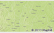 Physical 3D Map of Kassere