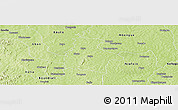 Physical Panoramic Map of Kassere