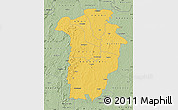Savanna Style Map of Boundiali