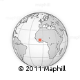 Outline Map of Boundiali